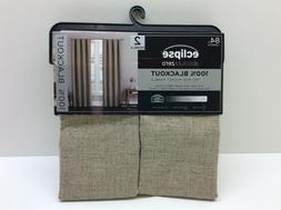 eclipse absolute zero curtains rod pocket panel