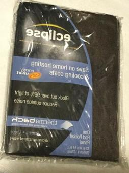 eclipse blackout curtains i panel samara 42