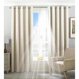 Riva Home Eclipse Blackout Eyelet Curtains )