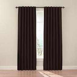 "Ellery Eclipse Fresno 52 x 84"" Blackout Back Tab Window Curt"