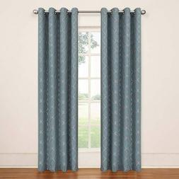 Eclipse Tipton Trellis Thermaback Blackout Curtain - 52'' x