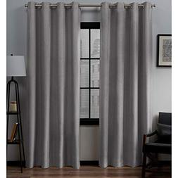 Exclusive Home Loha Linen Grommet Top Curtain Panel Pair, Do