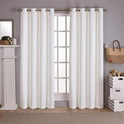 Exclusive Home Curtains EH7981-01 2-84G Home Sateen Twill Wo