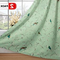 turquoise birds country pattern thermal