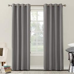 Sun Zero Eliza Room Darkening Triple Lined Curtain Panel, 50
