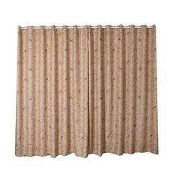 embroidered blackout curtain office plant balcony insulated