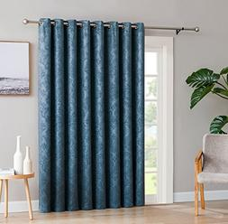 LinenZone Evelyn - 1 Patio Extra Wide Curtain Panel with 16
