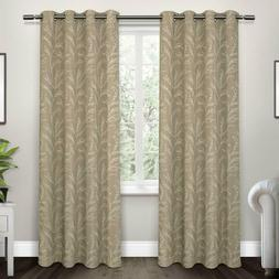 """Exclusive Home Kilberry Woven Blackout Grommet Panels 52""""x 9"""