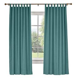 "ChadMade Extra Long Curtains 72"" W x 102"" L Polyster Linen D"