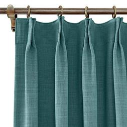 "ChadMade Extra Wide Curtains 100"" W x 96"" L Polyester Linen"