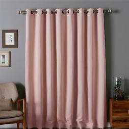 Aurora Home Extra Wide Thermal 96-inch Blackout Curtain Pane