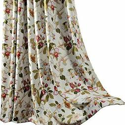 Flower Curtains Blackout Bedroom Drapes - Anady 2