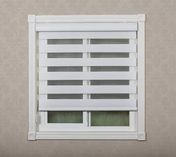Combi Shades Premium for French and Sliding Glass Door; Zebr