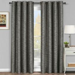 Galleria Blackout Thermal insulated Stripe Window Grommet Cu