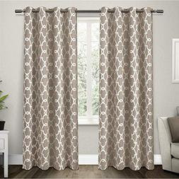 Exclusive Home Gates Sateen Blackout Thermal Grommet Top Cur