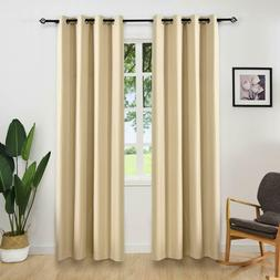 Gray Blackout Curtains  - Eclipse Blackout Curtains - Therma