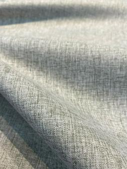 Gray Linen Blackout 54 inch Fabric By the yard no light pass