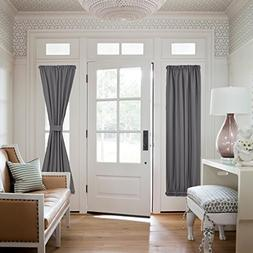 NICETOWN French Door Window Curtains - Functional Thermal In