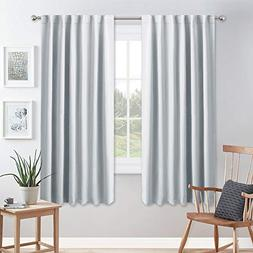 PONY DANCE White Curtain Panels - Room Darkening Light Filte
