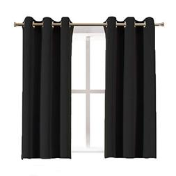 Aquazolax Blackout Curtain Panels for Bedroom Windows Therma
