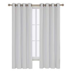 Deconovo Grommet Blackout Curtains Thermal Insulated Window