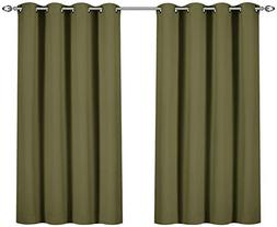 grommet thermal insulated blackout curtains
