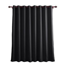 Deconovo Grommet Wide Blackout Curtains Wide Thermal Insulat