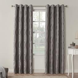 *Sun Zero Stratton Room-Darkening Grommet-Top Curtain Panel