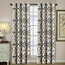 H.VERSAILTEX Blackout 96 inch Curtains for