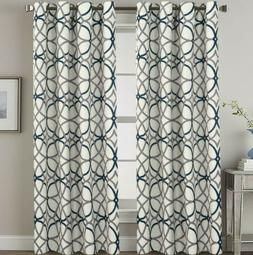 "H.VERSAILTEX Blackout Curtains 108 Inches Long Thermal 52""Wx"