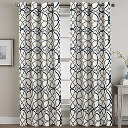 H.VERSAILTEX Blackout Curtains 96 Inches Long Thermal Insula