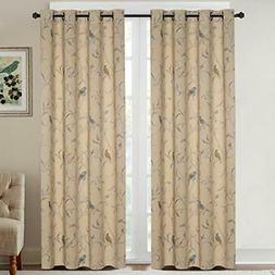H.VERSAILTEX Blackout Curtains for Bedroom 84 Inches Length