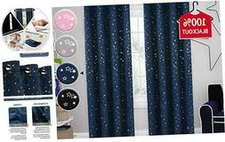 H.VERSAILTEX Blackout Curtains Kids Room Thermal Insulated T