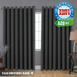H.VERSAILTEX Extra Long and Wide Blackout Curtains, Thermal