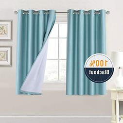 H.VERSAILTEX Premium 100% Blackout Curtains for Bedroom 54 I