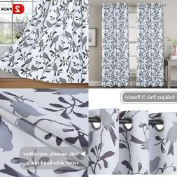 H.VERSAILTEX Thermal Insulated Grommet Blackout Curtains for