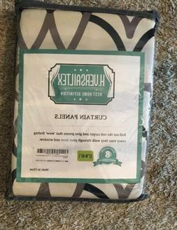 H.VERSAILTEX Thermal Insulated Grommet Blackout Curtains, Ge