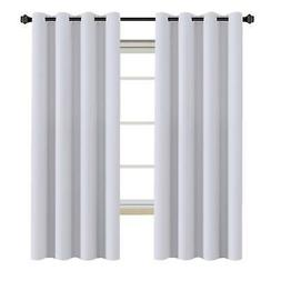 H.VERSAILTEX White Curtains Blackout Thermal Insulated Room