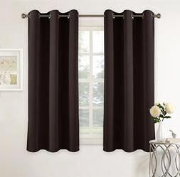 PONY DANCE Blackout Curtain Panels - Home Decor Ring Top Sol