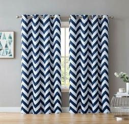 Hlc.Me Chevron Print Thermal Insulated Energy Efficient Room