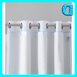 HLC.ME White Thermal Insulated 100% Blackout Curtain Liner 9