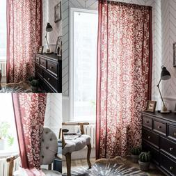 home bed room curtains blackout backing window
