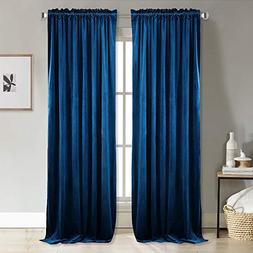 NICETOWN Home Decor Blackout Velvet Curtains -Soft and Elega