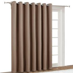 NICETOWN Blackout Blinds for Patio Door - Sliding Door Insul