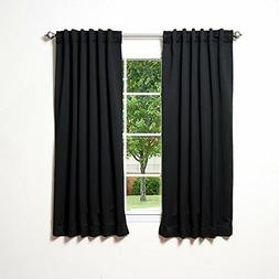Best Home Fashion Thermal Insulated Blackout Curtains Back T