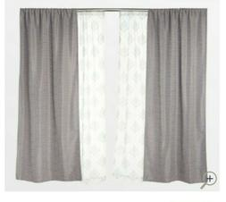 """Inspire Me! Home Decor 84"""" 4-Piece Blackout Curtains - In Co"""