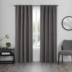 Eclipse Jolie Rod Pocket Curtains for Bedroom, Single Panel,