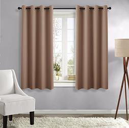 NICETOWN Blackout Blind Curtains for Windows -  52-inch x 63