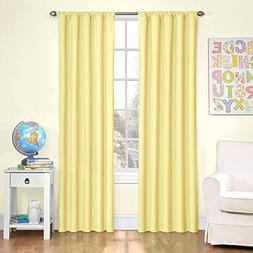 NEW Eclipse Kids Microfiber Blackout Window Curtain Panel 42