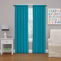 Eclipse Kids Microfiber Blackout Window Curtain Panel, Rich